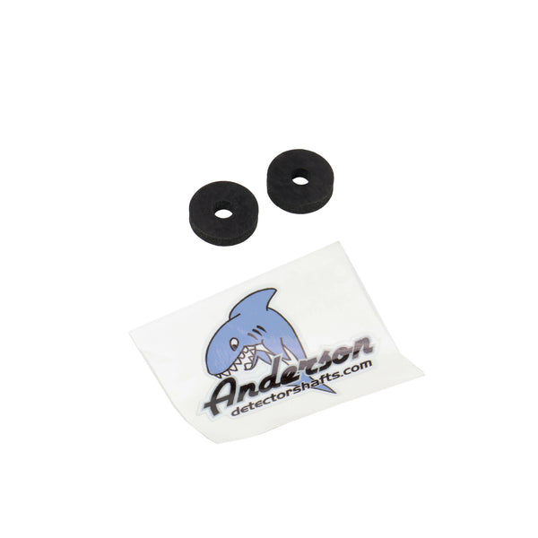 "Anderson Detector Shafts 1/4"" Lower Rod Washer Pair"