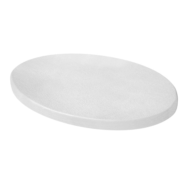 "Fisher Teknetics 10"" Elliptical Closed White Coil Cover"