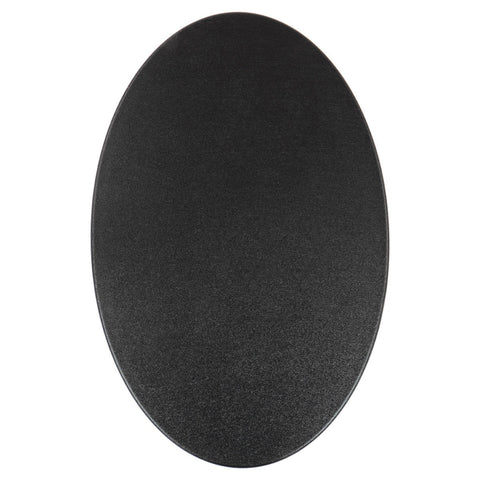 "Coiltek 17 x 11"" Elliptical Coil Cover Hard Plastic Skidplate Black Scuff"