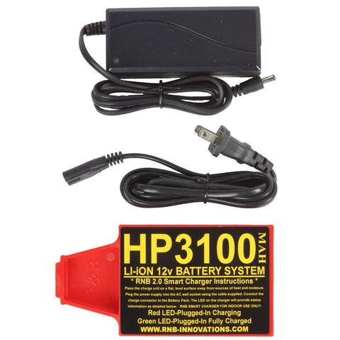 RnB Innovations HP-3100 Lithium-ion 12v Battery for Whites Detectors