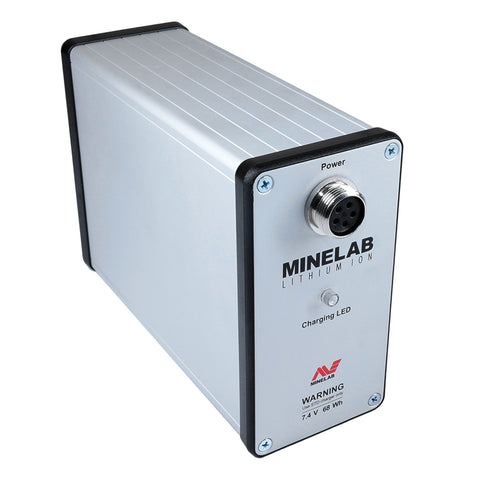 Minelab Lithium ion Battery with built -in Amplifier
