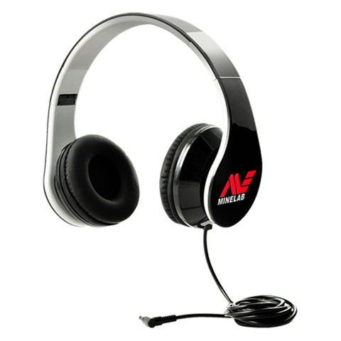 "Minelab Wired Headphones with 3.55 mm 1/8"" Jack Connector"