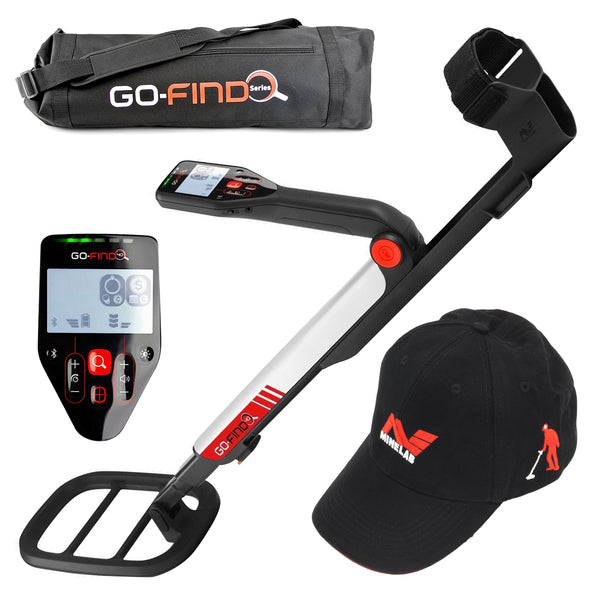 Minelab GO-FIND 60 Metal Detector Special with Carry Bag & Black Baseball Hat