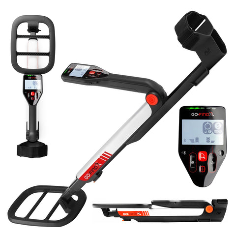 Minelab GO-FIND 40 Metal Detector with 10 inch 7.8 kHz Waterproof Search Coil