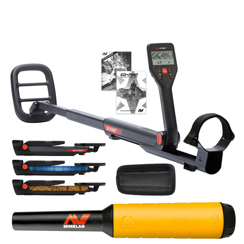 Minelab GO-FIND 22 Metal Detector with PRO-FIND 20 Pinpointer & Holster