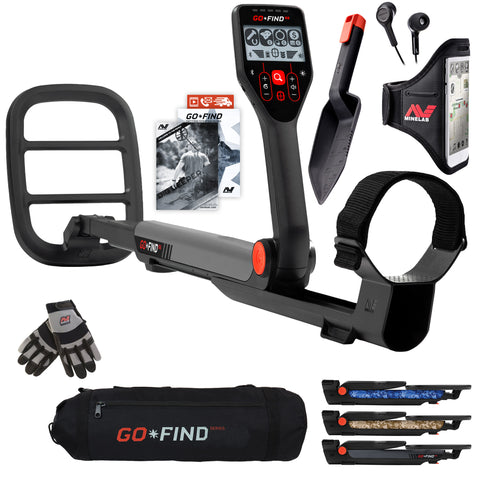 Minelab Go-Find Bundle with Gloves and Carrybag