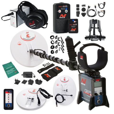 Minelab GPX 5000 Metal Detector Special with PRO-SONIC Wireless Audio System