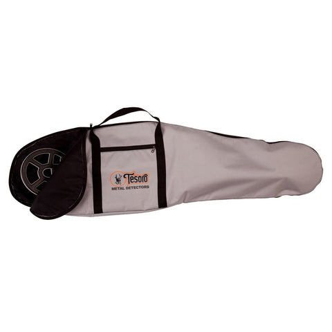 "Tesoro Large Full Length Padded Metal Detector Carry Bag 52"" Grey"