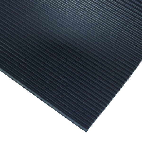 Ribbed Low Profile Vinyl Mat 18x24 inch for Gold Mining Prospecting