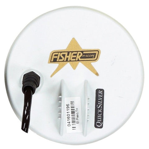 "Fisher 5"" Round White Concentric Search Coil for the CZ-3D"