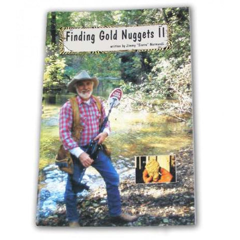 "Whites Finding Gold Nuggets II Book by Jimmy ""Sierra"" Normandi"