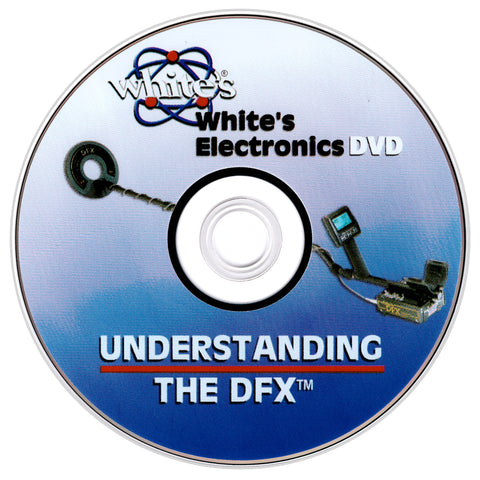 Understanding the Whites DFX Metal Detector DVD by Jimmy Sierra