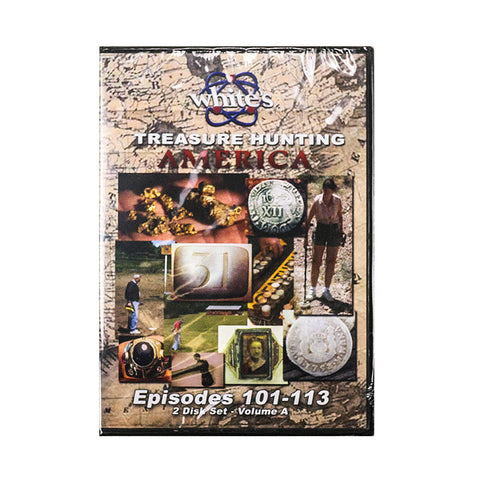 Whites Treasure Hunting America DVD