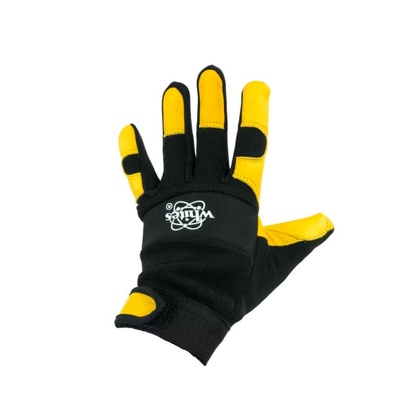 White's Signature Series Leather/Fabric Metal Detector Gloves - SM