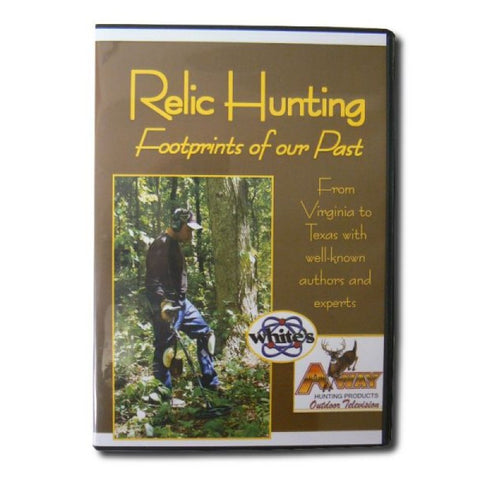 Whites Relic Hunting - Footprints of our Past -  DVD