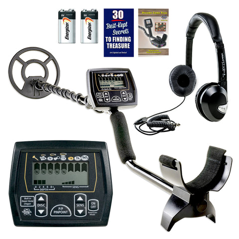 "Whites Coinmaster Metal Detector w/ 9"" Waterproof Search Coil & Headphones"