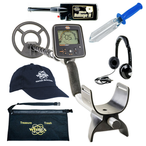 Whites Treasuremaster Metal Detector GEARED UP Bundle