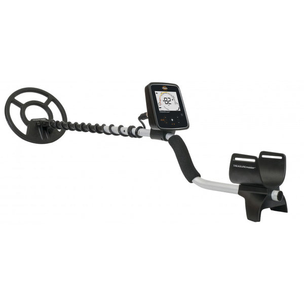 Whites Treasuremaster Metal Detector w/ Automatic Ground Balance Waterproof Coil