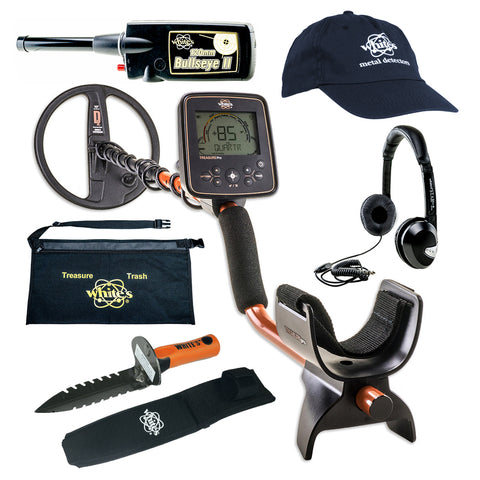 Whites TreasurePro Metal Detector GEARED UP Bundle