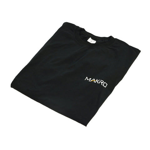 Makro Racer Black T-Shirt with Official Makro Logo XL Extra Large