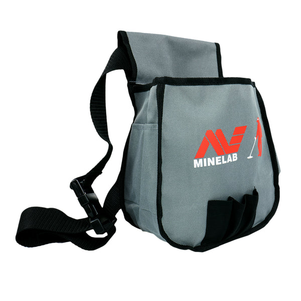 Minelab Metal Detector Finds Pouch in Sand & Black for your Tools and Finds