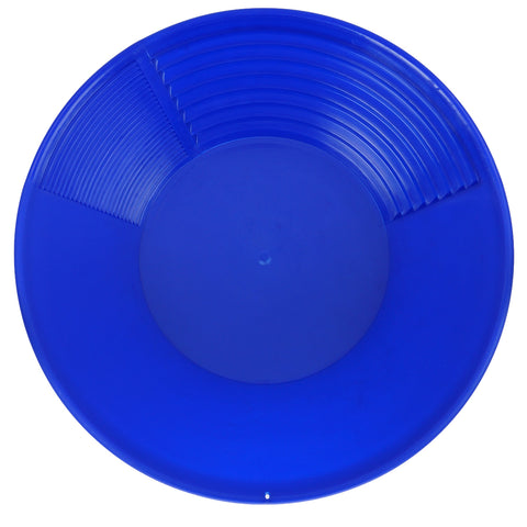 "Pioneer Mining 12"" Blue Gold Pan for Gold Prospecting"