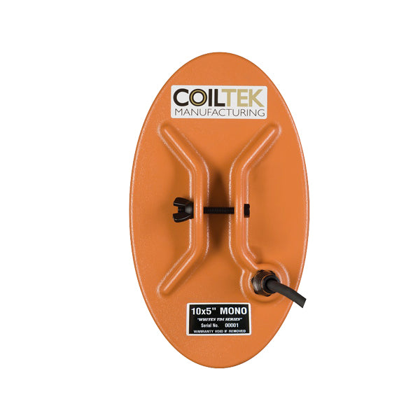 "Coiltek Elliptical 10 x 5"" TDI Mono Search Coil for Whites TDI Metal Detector"