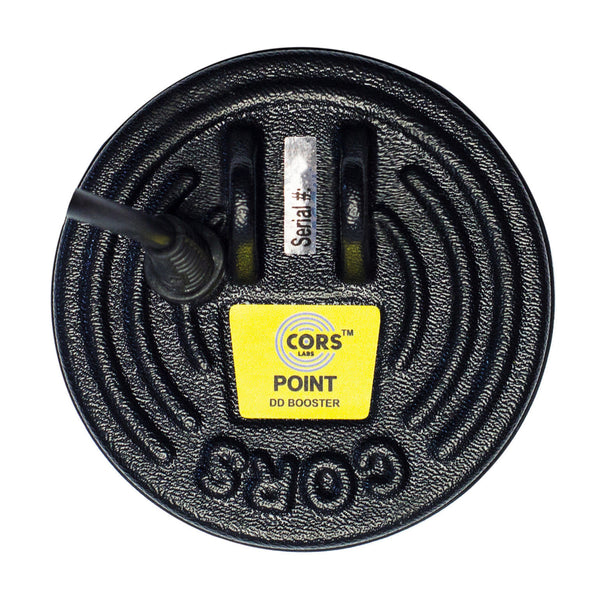 "CORS Point 5"" DD Coil for Whites Brand Metal Detector with Cover"