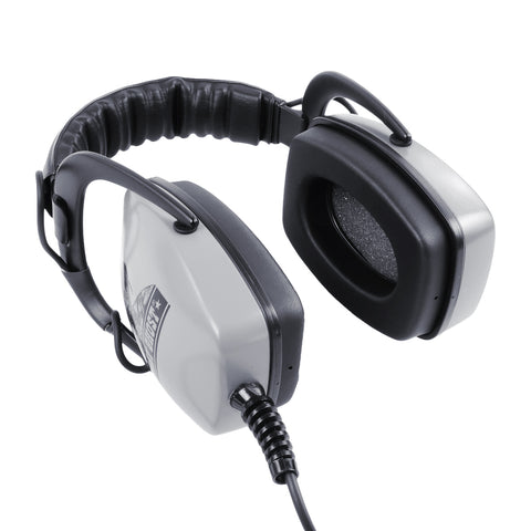 "DetectorPro Gray Ghost Deep Woods Headphones with 1/4"" Angle Plug"
