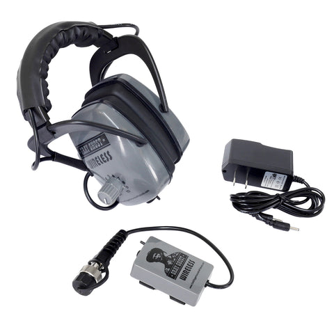 Gray Ghost Wireless Headphones for Garrett AT Pro AT Gold Metal Detector