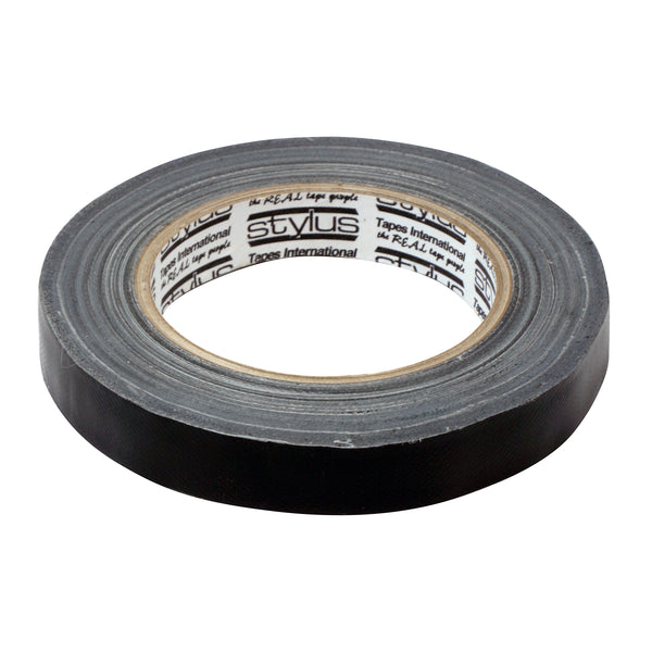 Coiltek Black Cloth Tape for Metal Detector Coil