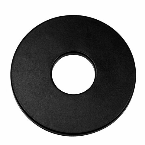 "Tesoro 8"" Center Hole Black Metal Detector Search Coil Cover"