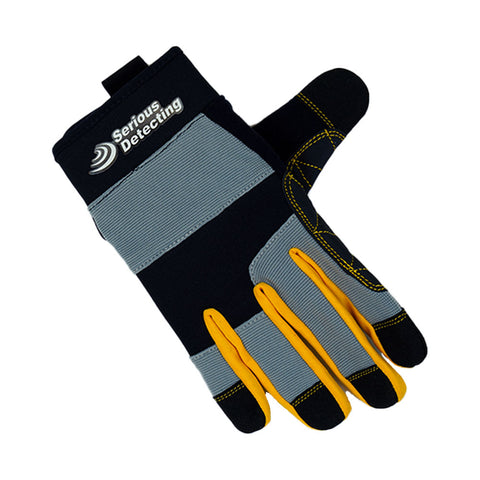 Serious Detecting Metal Detector Gloves