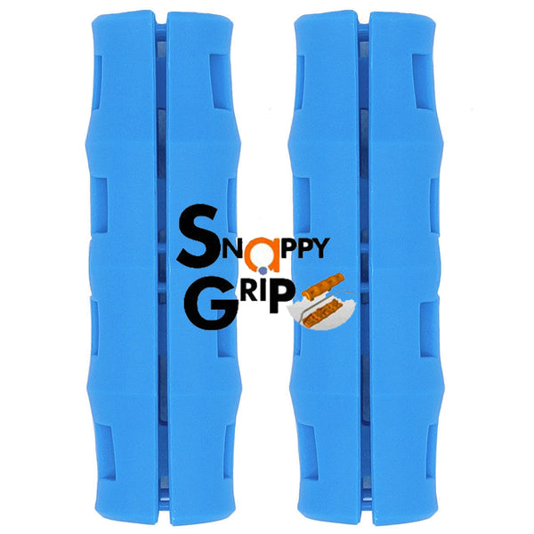 Snappy Grip Light Blue Ergonomic Replacement Bucket Handles 2 Pack