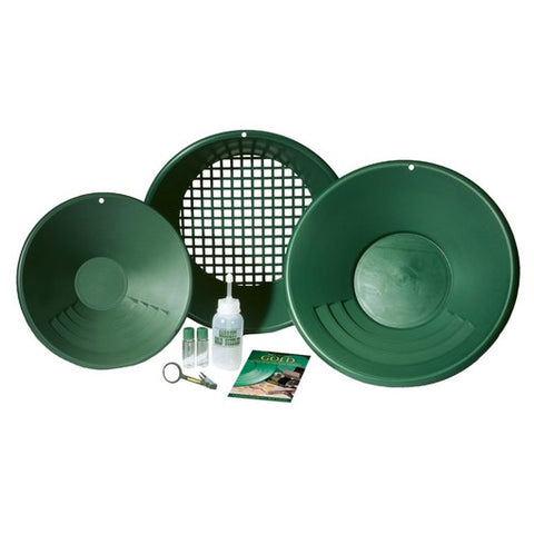 Garrett Gold Panning Kit Complete with Gravity Trap Pan