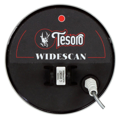 "Tesoro 5 3/4"" Widescan Delta Search Coil, Long Cable, Cover"