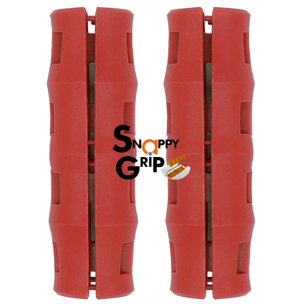 Snappy Grip Red Ergonomic Replacement Bucket Handles 2 Pack
