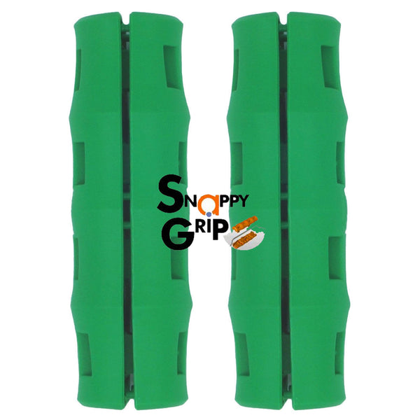 Snappy Grip Green Ergonomic Replacement Bucket Handles 2 Pack