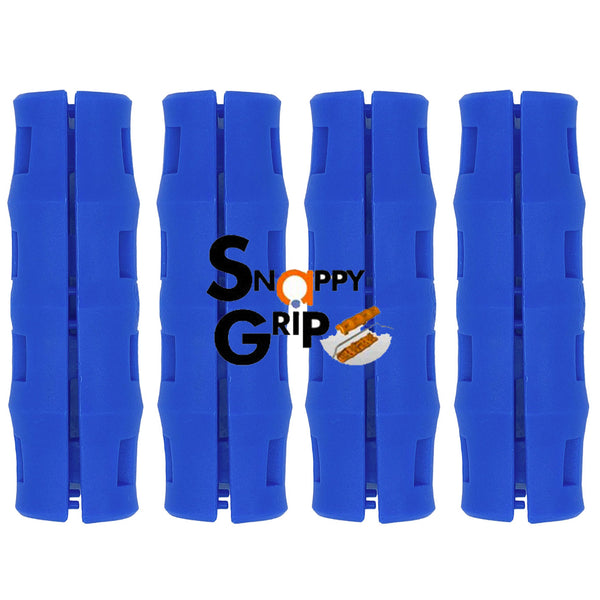 Snappy Grip Dark Blue Ergonomic Replacement Bucket Handles 4 Pack