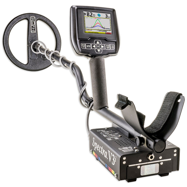 Whites Spectra V3i Metal Detector with Headphones 10