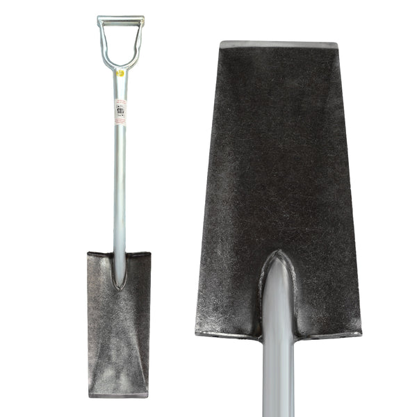 "King of Spades Shovel w/ 15"" Edge for Gardening and Landscaping"
