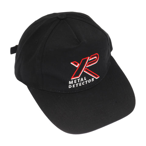 XP Metal Detector Premium Ball Cap Black with embroidered XP logo