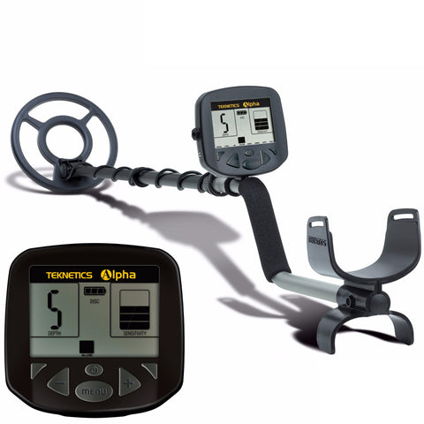 "Teknetics Alpha 2000 Metal Detector w/ 8"" Concentric Coil & 5 Year Warranty"