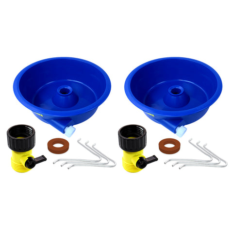 Blue Bowl Gold Concentrator Dual Pack w/ Control Valve, Wire Legs & Instructions
