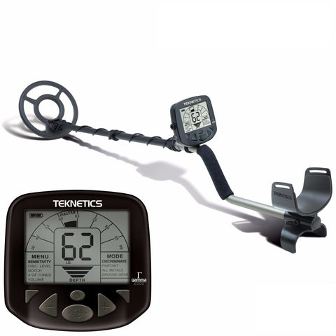 "Teknetics Gamma 6000 Metal Detector w/ 8"" Concentric Coil and 5 Year Warranty"