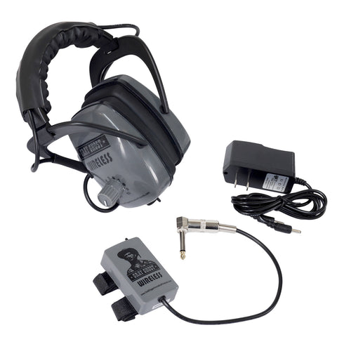 Gray Ghost Wireless Headphones for Minelab FBS/GPX/GPZ Metal Detector GG-M-WHP
