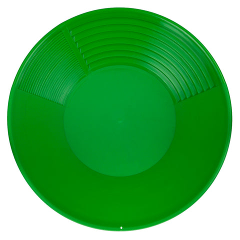 "Pioneer Mining 14"" Green Gold Pan for Gold Prospecting"