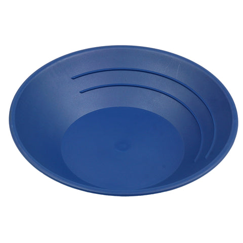"10"" Plastic Gold Pan Panning Blue GP1001BL"