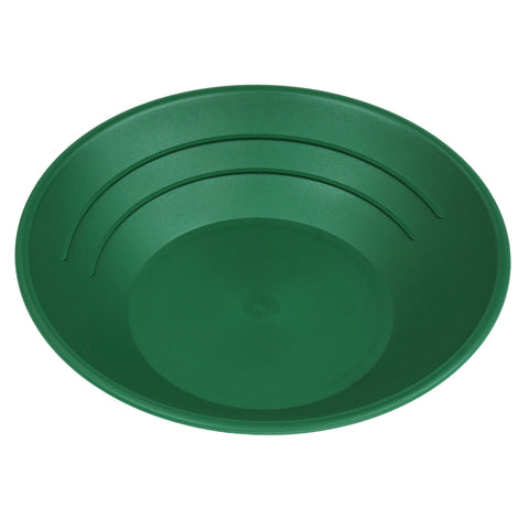 "10"" Plastic Gold Pan Panning Green GP1001G"