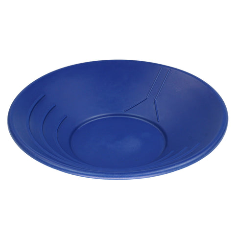 "14"" Plastic Gold Pan Panning Blue & Water Guide"
